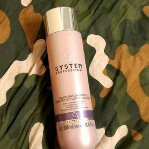System professional color save shampoo